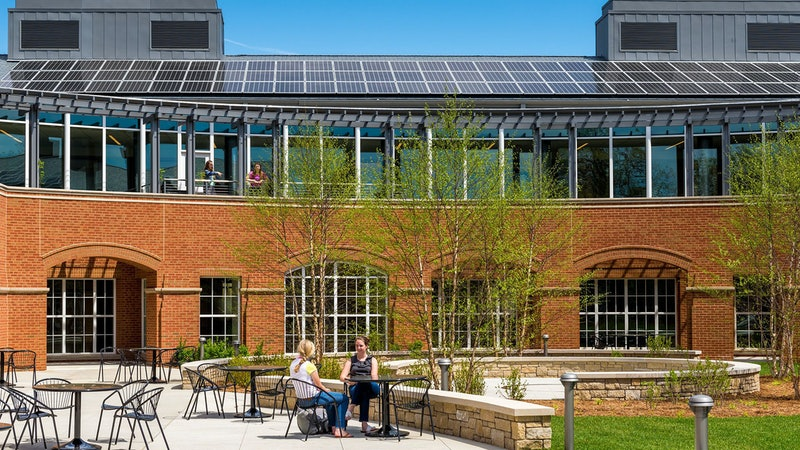 Two STEM Buildings Recognized by Education Magazine