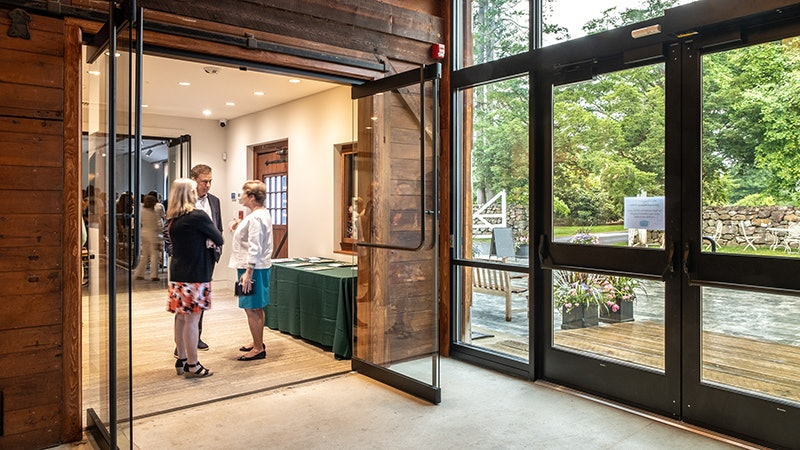 Ribbon Cut at Hill-Stead Museum Visitors Center